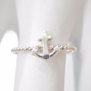 Jewelry - 💍⚓Sterling Silver Nautical Anchor Ring ⚓💍